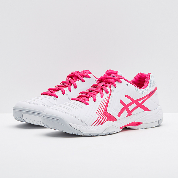 Asics Gel-Game 6 Women's Tennis Shoes (E755Y-100)