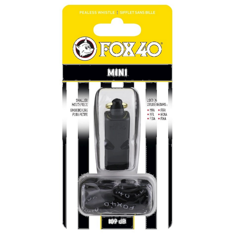 Fox40 Mini Whistle with Lanyard