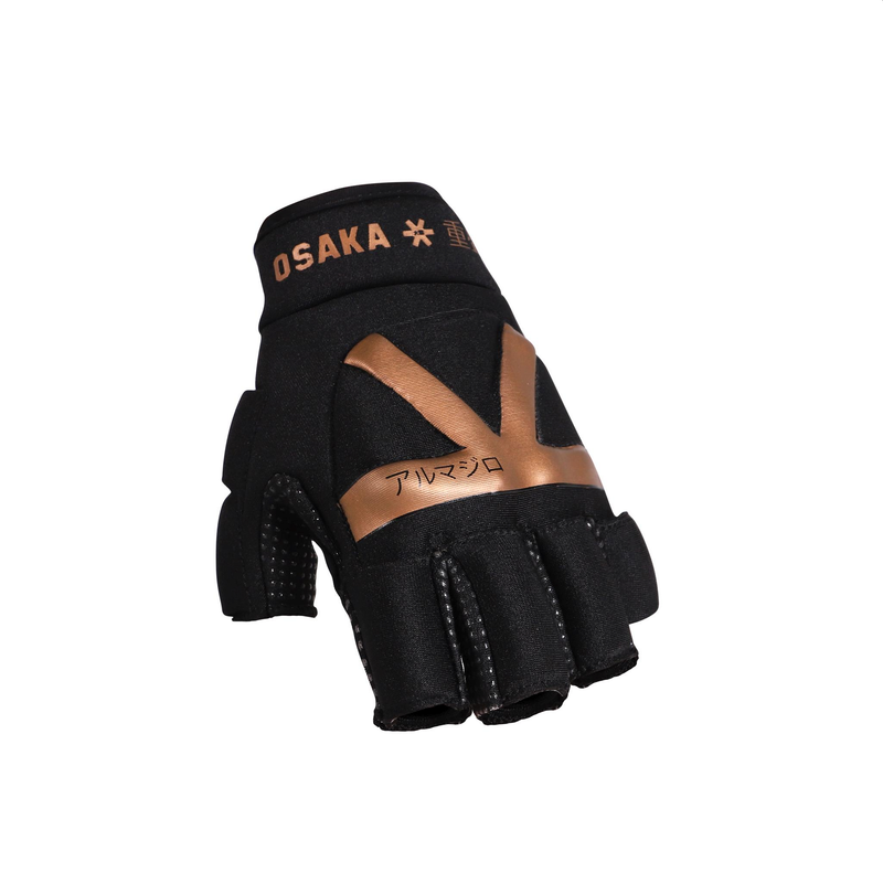Osaka Armadillo Hockey Glove - Gold