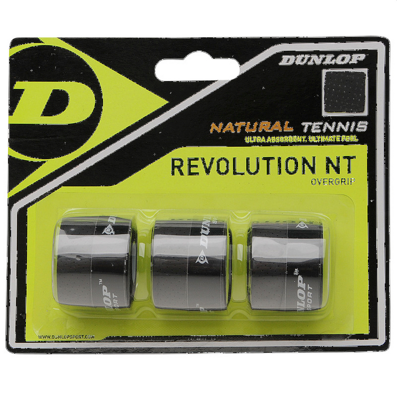 Dunlop NT Revolution Overgrip - 3 Pack