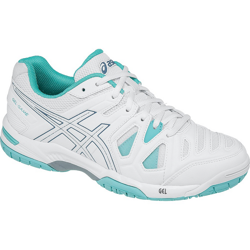 Asics Gel-Game 5 Women's Tennis Shoes (E556Y-0162)