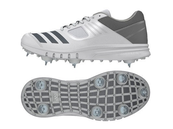 Adidas Howzat Spikes Junior Cricket Shoes (CM7424)