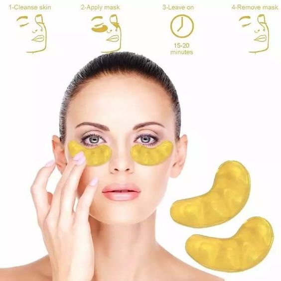 Gold Powder™ Eye Mask 10 Pairs