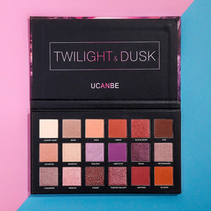 Ucanbe™ 18 Color Rose Gold Eye Shadow Palette