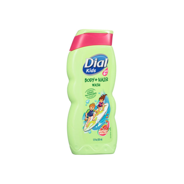 Dial Kids Body + Hair Wash, Watery Melon 12 oz