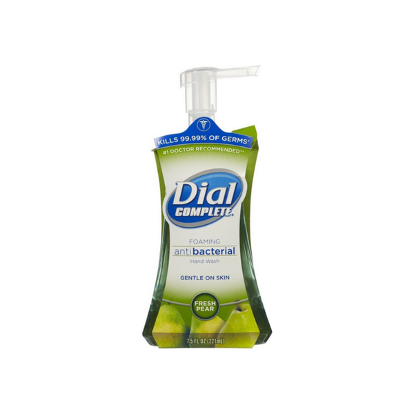 Dial Complete Foaming Antibacterial Hand Wash, Fresh Pear 7.5 oz