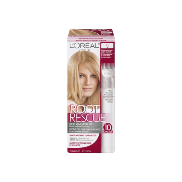 L'Oreal Root Rescue 9 Light Blonde 1 ea