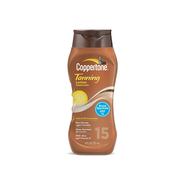 Coppertone Tanning Lotion SPF 15 8 oz
