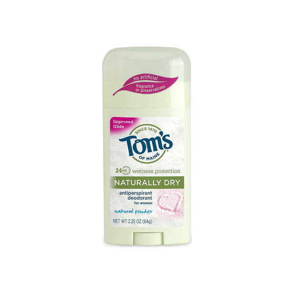 Tom's of Maine Naturally Dry Antiperspirant, Powder 2.25 oz
