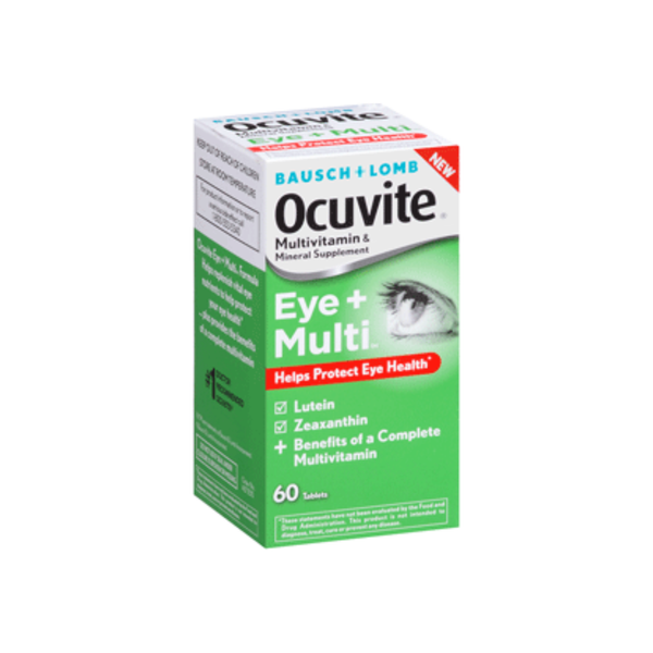 Bausch & Lomb Ocuvite Multi for Eyes, Tablets 60 ea