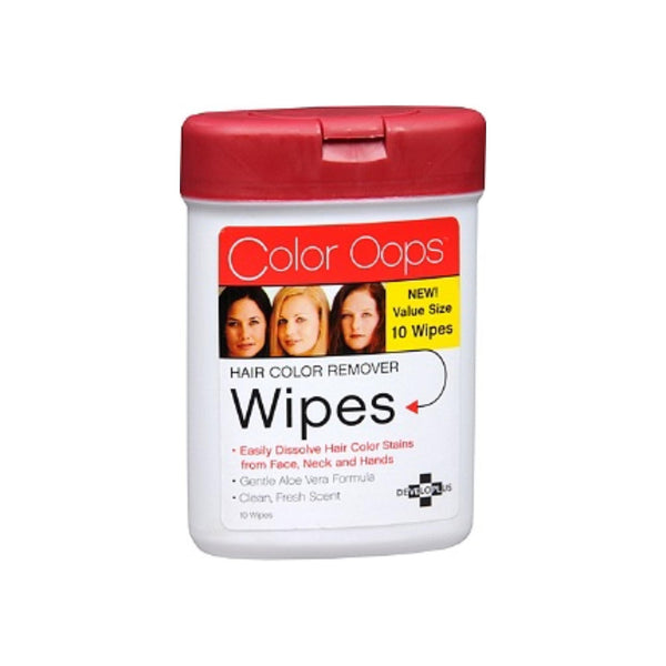 Color Oops Hair Color Remover Wipes 10 ea