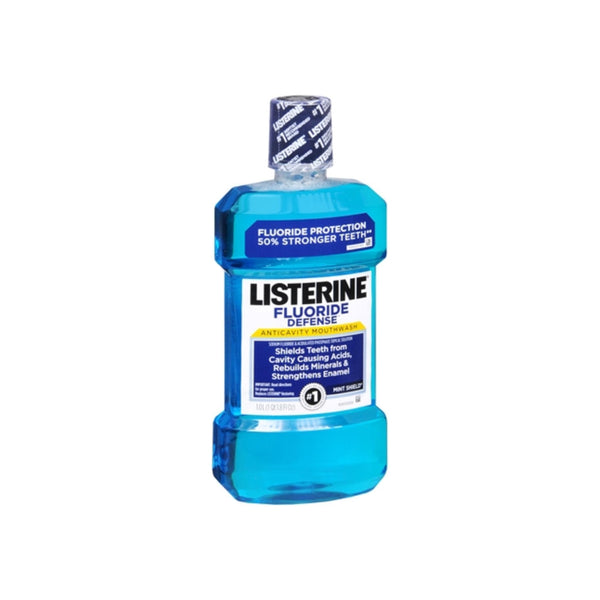 Listerine Restoring Mouthwash Mint Shield Flavor 1000 mL