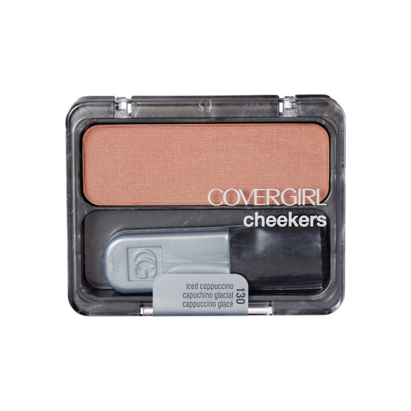 CoverGirl  Cheekers Blush, Iced Cappuccino,  0.12 oz