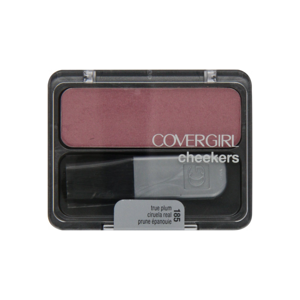 CoverGirl  Cheekers Blush, True Plum [185] 0.12 oz