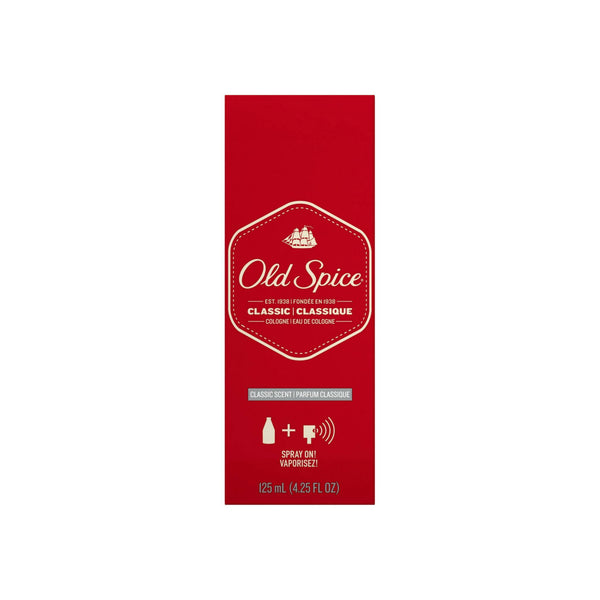 Old Spice Classic Cologne Spray 4.25 oz