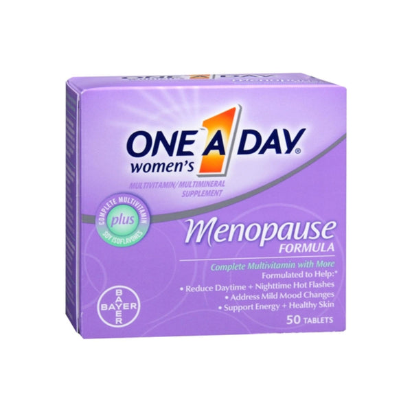 One-A-Day Menopause Formula Complete Women's Multivitamin 50 Tablets