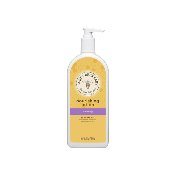 Burt's Bees Baby Bee Nourishing Calming Lotion 12 oz