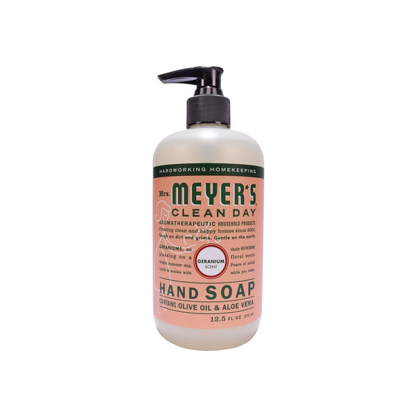 Mrs. Meyers Clean Day Liquid Hand Soap, Geranium 12.5 oz