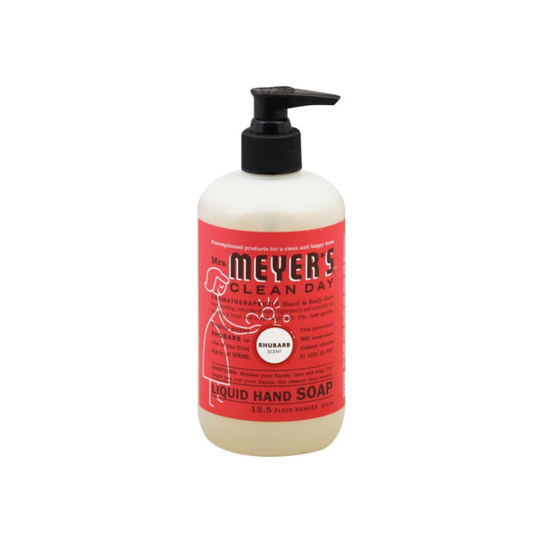 Mrs. Meyers Clean Day Liquid Hand Soap, Rhubarb 12.50 oz
