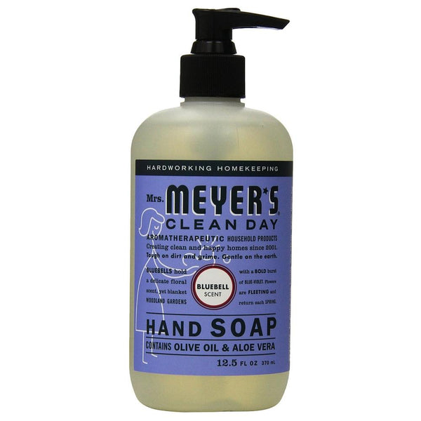 Mrs. Meyers Liquid Hand Soap, Bluebell 12.5 oz