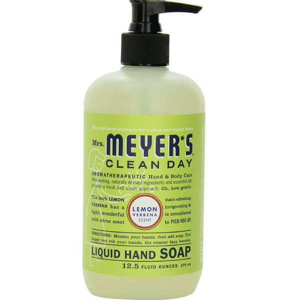 Mrs. Meyers Clean Day Liquid Hand Soap, Lemon Verbena 12.5 oz
