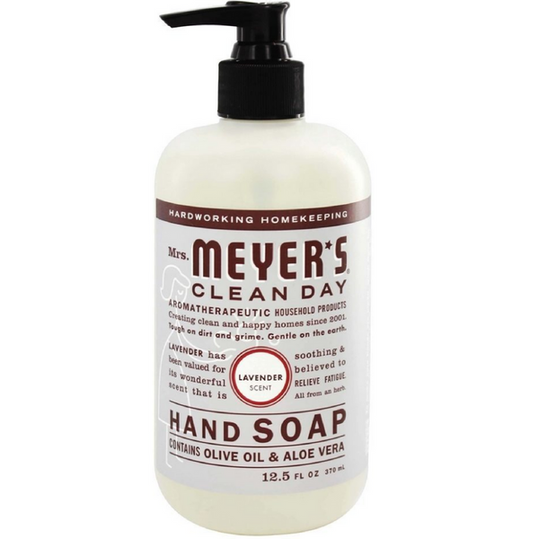 Mrs. Meyers Clean Day Hand Soap, Olive Oil & Aloe Vera 12.5 oz