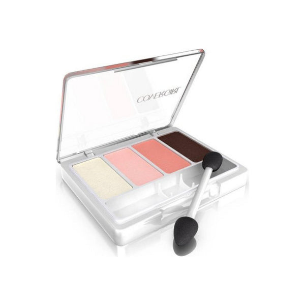 CoverGirl Eye Enhancers 4-Kit Eye Shadow, Blushing Nudes 0.19 oz