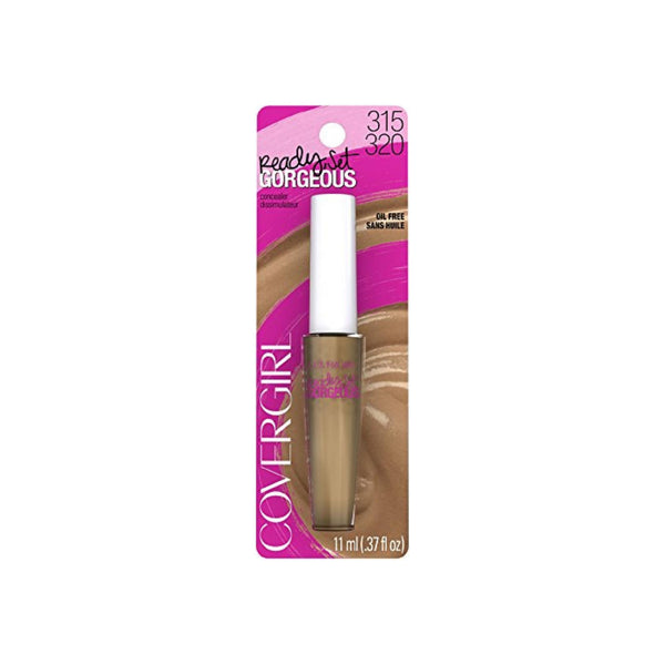CoverGirl Ready Set Gorgeous Fresh Complexion Concealer, Deep 315/320 0.37 oz