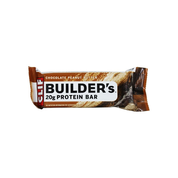 Clif Builder's Protein Bar, 2.40 oz Bars, Chocolate Peanut Butter, 12 ea