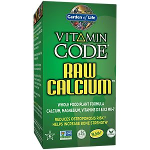 Garden of Life, Vitamin Code, Raw Calcium, 120 UltraZorbe Vegetarian Capsules