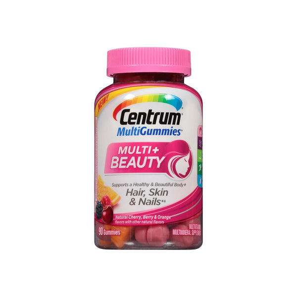 Centrum MultiGummies Multi + Beauty Gummy Multivitamin 90 ea