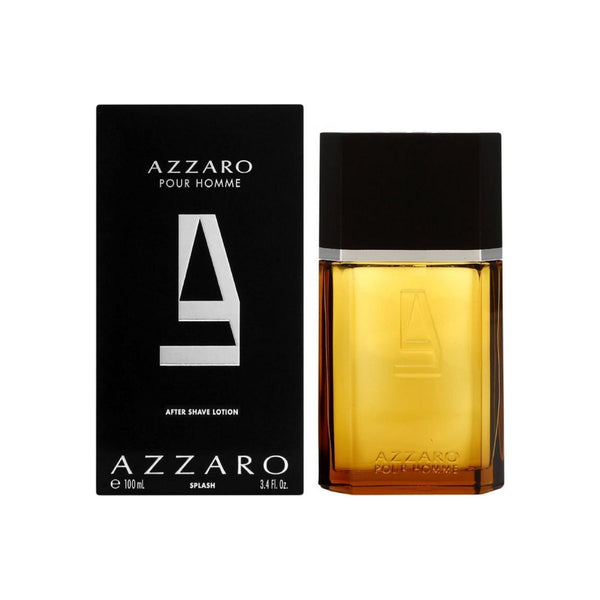 Azzaro Pour Homme After Shave Lotion Splash 3.4 oz