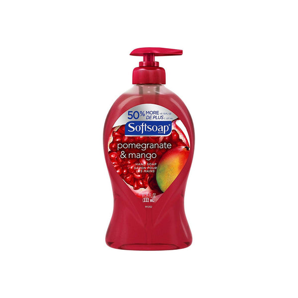 Softsoap Liquid Hand Soap, Pomegranate and Mango 11.25 oz