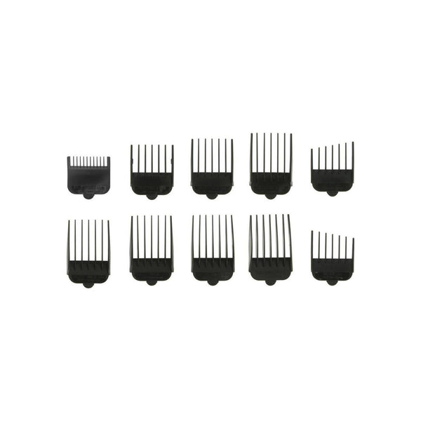 Wahl Pet Hair Clipper Attachment Guide Comb Set for Standard Adjustable Blades 10 ea