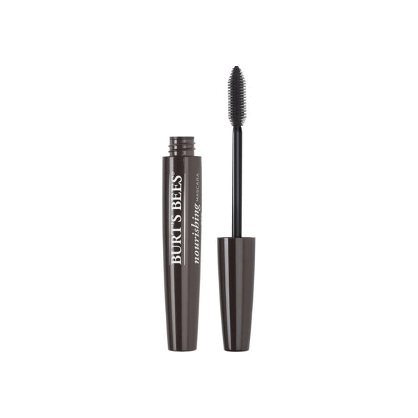 Burt's Bees Natural Nourishing Mascara, Black Brown 0.4 oz