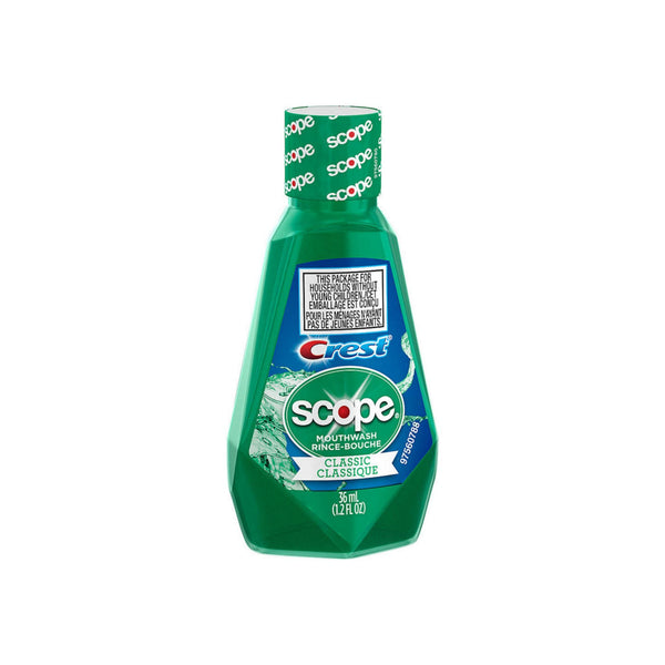 Crest Scope Classic Mouthwash 1.2 oz