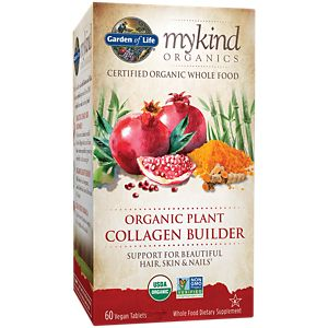 Garden of Life mykind Organic Plant Collagen Builder 60 Vegan Tablets