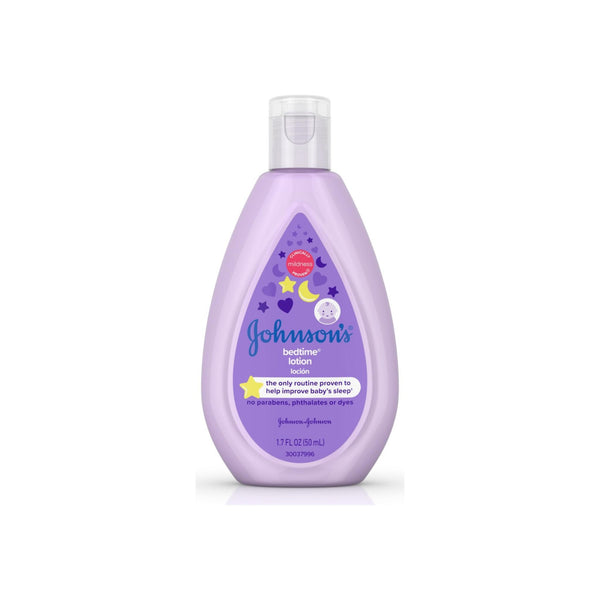 Johnson's  Bedtime Baby Lotion with NaturalCalm Essences, Hypoallergenic & Paraben Free 1.7 oz