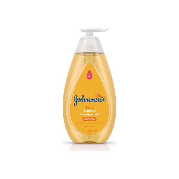 JOHNSON'S Tear Free Baby Shampoo, Free of Parabens, Phthalates, Sulfates and Dyes 20.30 oz