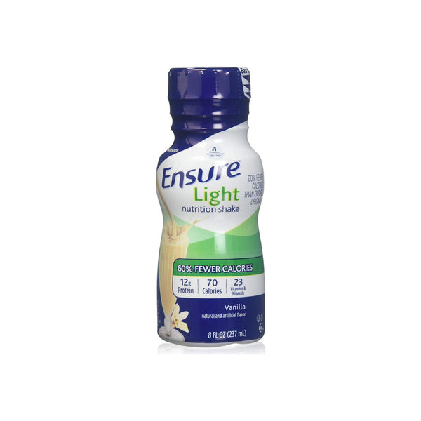 Ensure Light Nutrition Shake Vanilla 8 oz Bottle Ready to Use 1 ea