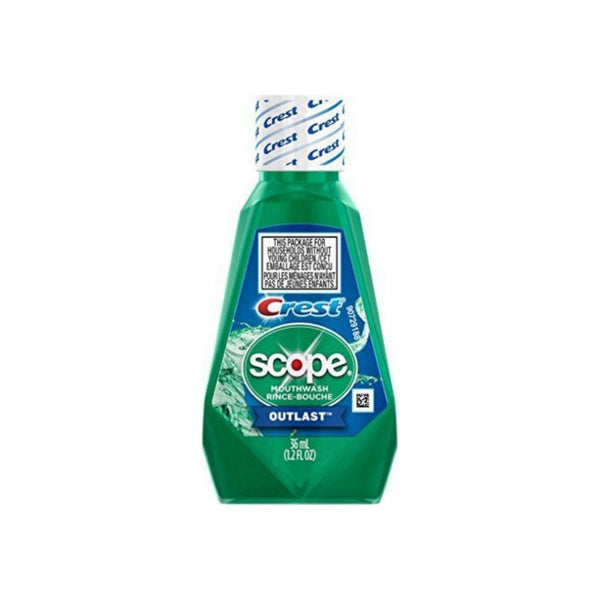 Crest Scope Outlast Mouthwash 1.2 oz