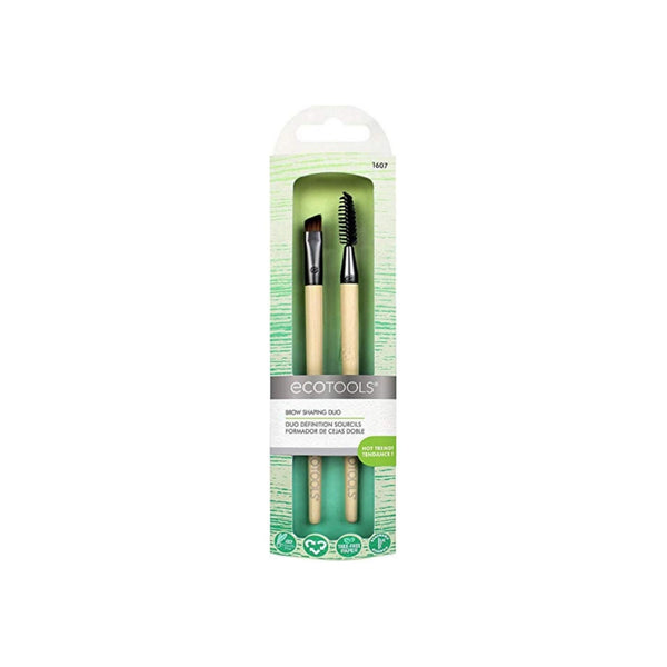 EcoTools, Brow Shaping Duo, 2 Brushes 1 ea