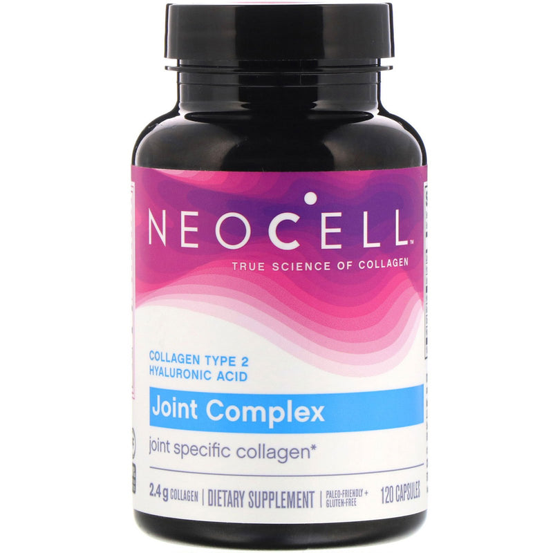 NeoCell Joint Complex, Type 2 Hydrolyzed Collagen Plus Joint & Cartilage Support - 120 Capsules