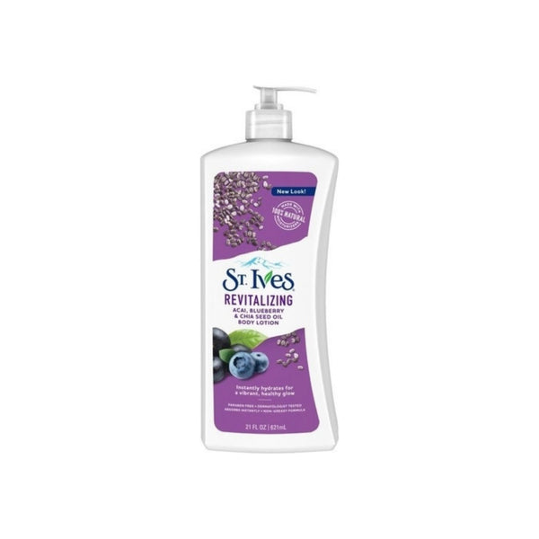 St. Ives Revitalizing Acail Body Lotion 21 oz