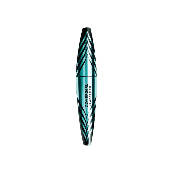 CoverGirl Peacock Flare Waterproof Mascara, Black/Brown, 0.3 oz