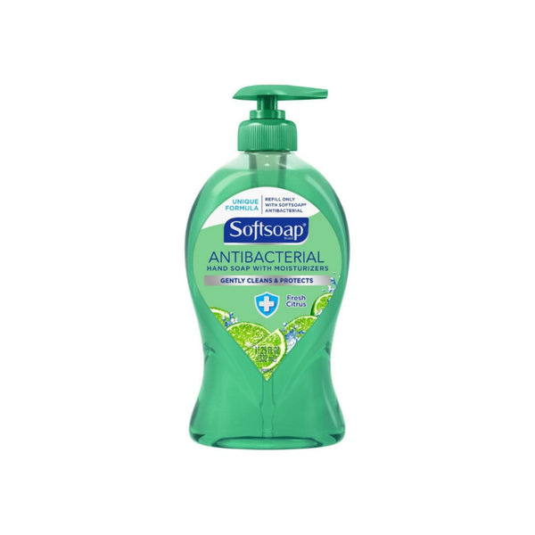 Softsoap Antibacterial Liquid Hand Soap Pump Fresh Citrus, 11.25 oz