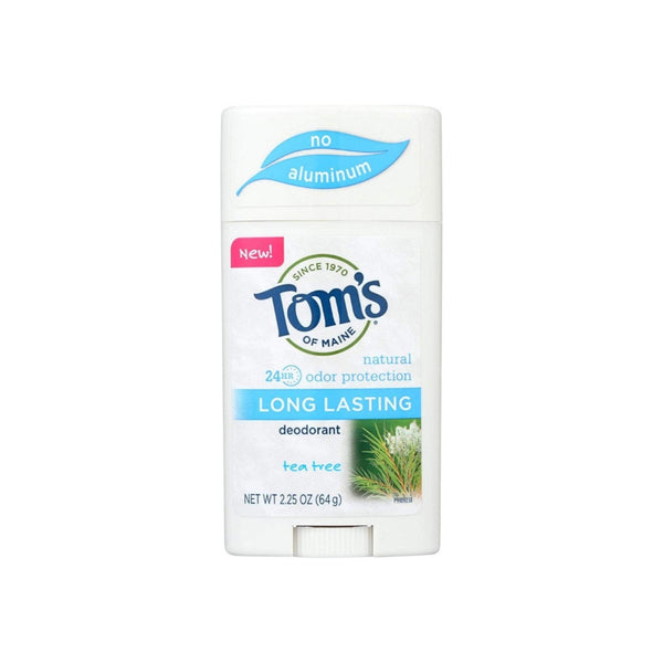 Tom's of Maine Tea Tree Long Lasting Deodorant, 2.25 oz