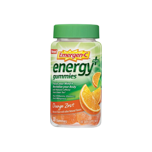 Emergen-C Energy Gummies For Mind and Body,  30 ea