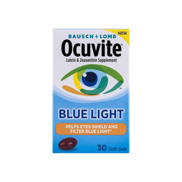 Bausch & Lomb Ocuvite Blue Light Supplements, 30 ea
