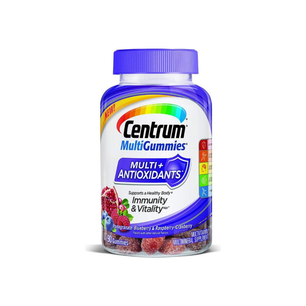 Centrum Multi-Gummies +Antioxidant For Immunity & Vitality, 90 ea